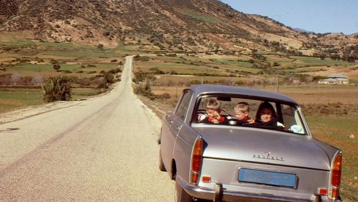 Eine DDR Familie in Marokko.