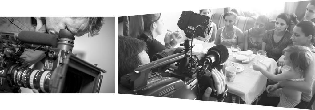 Slider Werkblende - 2 Kamerateam vor Ort