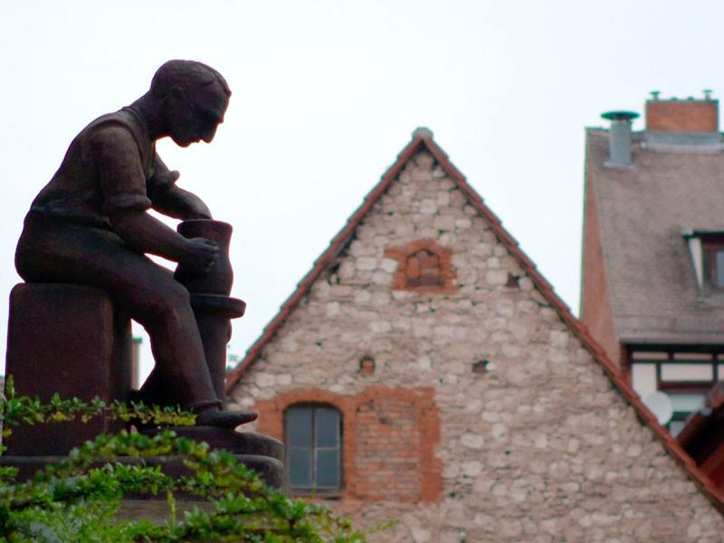 Bürgel in Thüringen: eines der Töpfer-Zentren in Deutschland