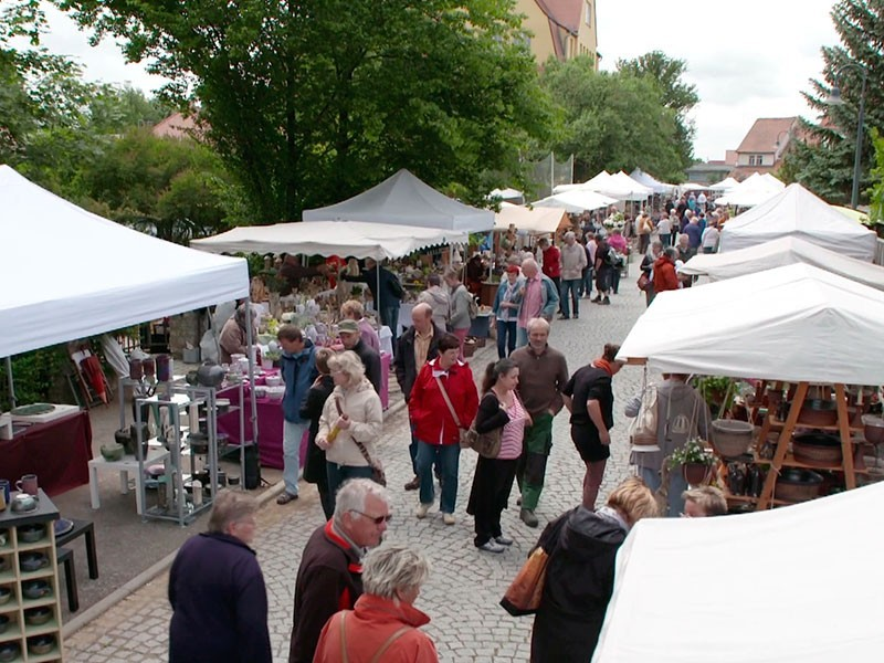 der Bürgeler Töpfermarkt zieht jedes Jahr 20.000 Besucher an
