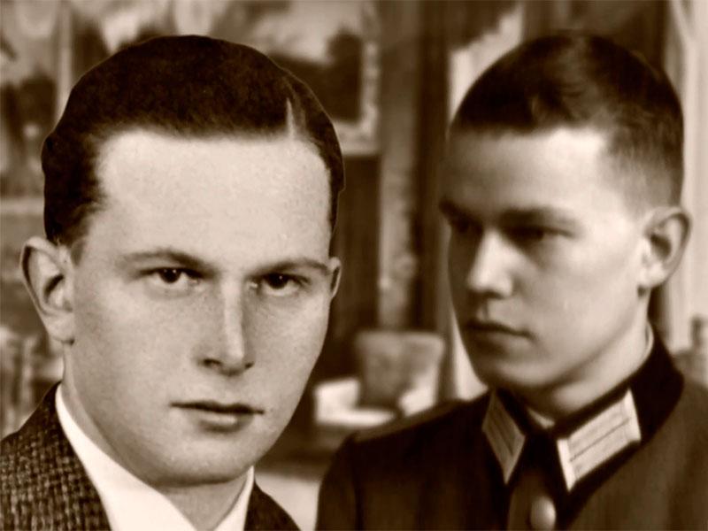 1943: die Gebrüder Karl Christoph und Lothar beginnen, die Familienschätze zu retten