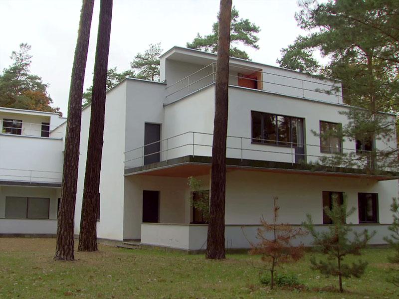 das Meisterhaus von Feininger in Dessau