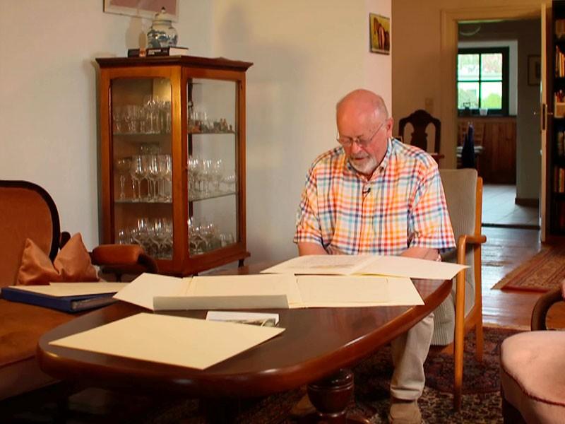 die Briefe des Meisters bleiben in Privathand – bei Christoph Klumpp