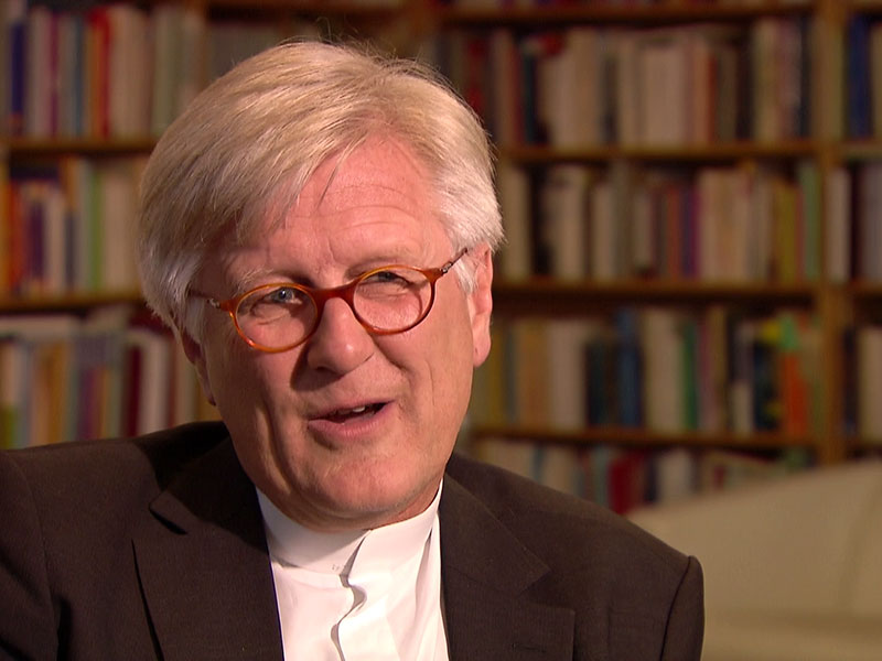 """Prof. Bedford-Storm, Ratsvorsitzender der Evangelischen Kirche Deutschland: """"Aus der Perspektive des Anderen sehen ..."""""""