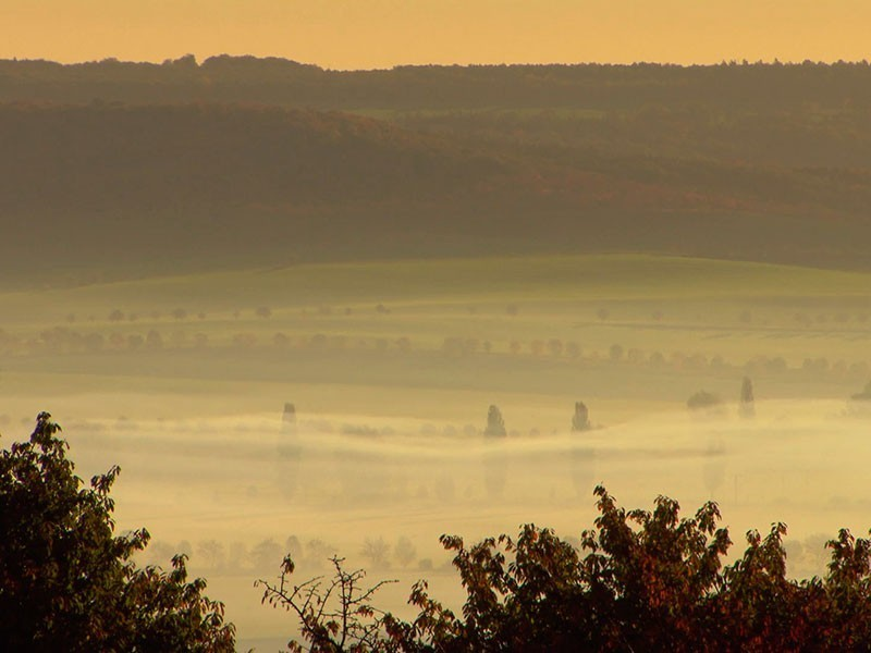 Hohe Schrecke am Nordrand des Thüringer Beckens