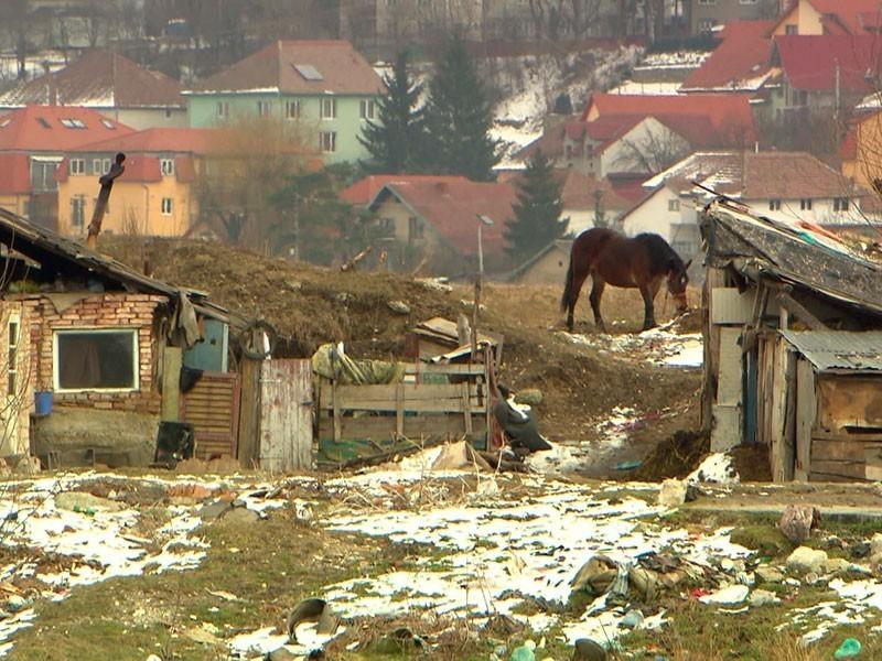 überall in Rumänien ist die Not sichtbar