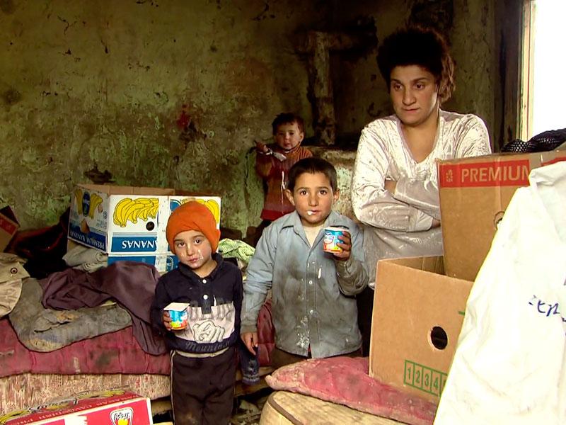 unfassbare Armut, besonders die Kinder leiden extrem