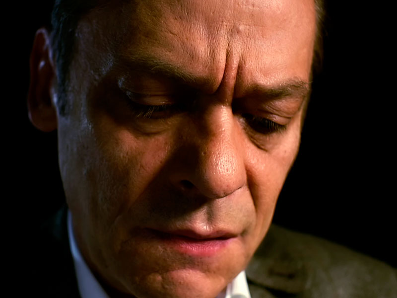 tiefgründig: der Schauspieler Sylvester Groth mit ganz persönlichen Gedanken zum Thema