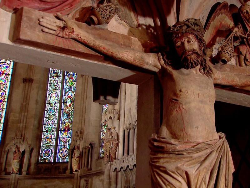der Westchor im Dom wird das Hauptwerk des Meisters