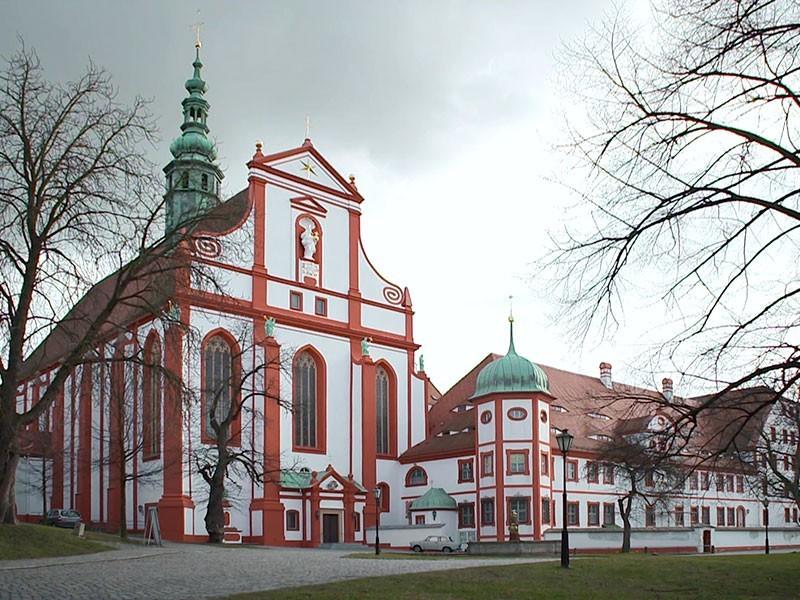 das Zisterzienserinnenkloster St. Marienstern in der Oberlausitz