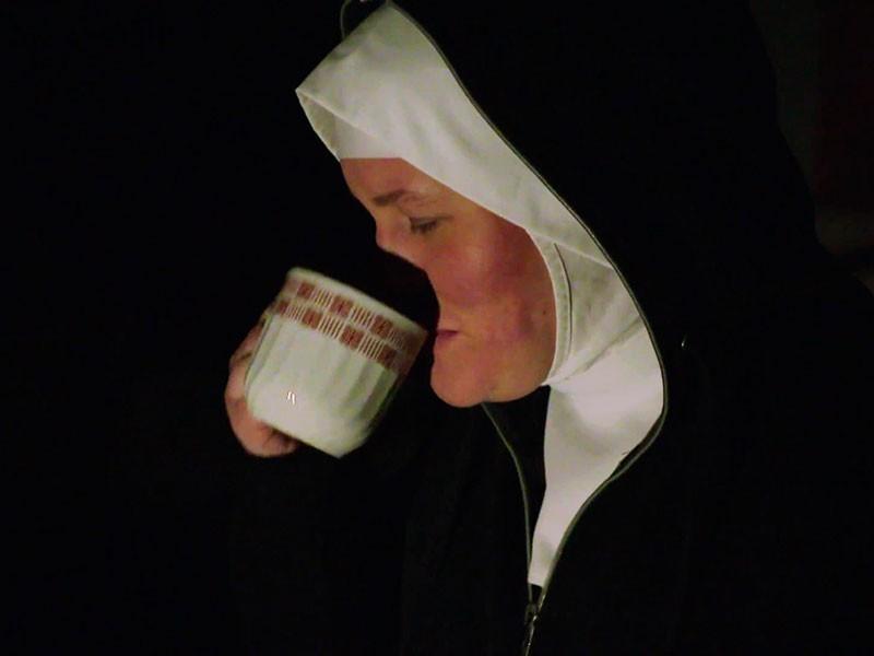 der Tag von Margarethe – jetzt Schwester Maria Laetitia – beginnt 4 Uhr morgens