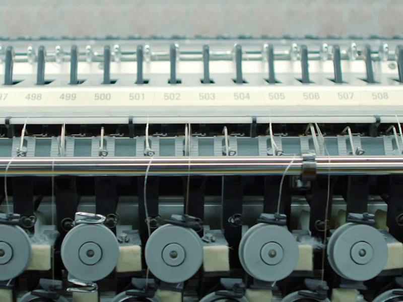 Faszinierende Maschinen: 600 Nadeln – neun Stiche pro Sekunde