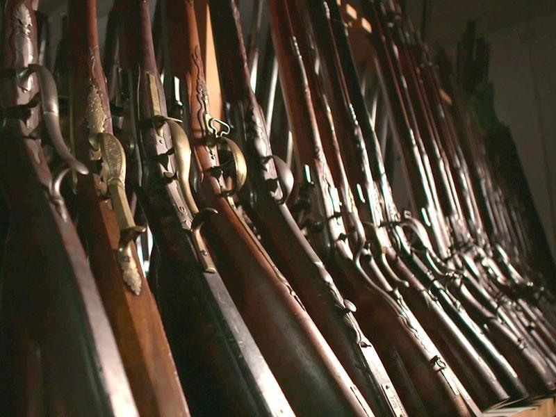 lange Tradition: im Suhler Waffenmuseum lagern über 3400 Exponate
