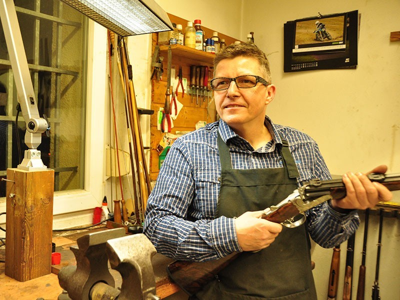 Jens Ziegenhahn baut in 4. Generation edle Jagdgewehre mit Leidenschaft